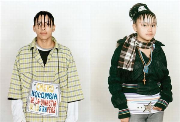 Không chỉ có kiểu tóc chất lừ, trang phục của các dân chơi cũng được chăm chút tỉ mỉ.