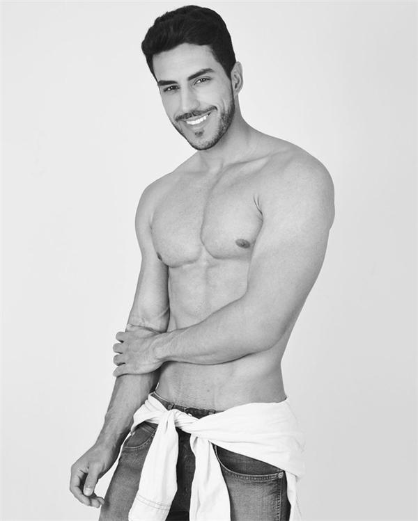 Vẻ đẹp hoàn hảo của chàng bác sĩ người Brazil.