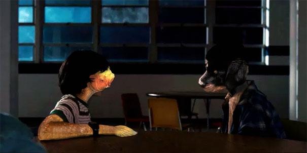 Chết cười với loạt ảnh nụ hôn xuyên chủng loại của chú chó nhỏ