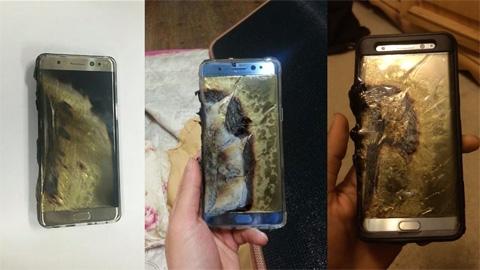 Sự cố Galaxy Note 7 lần trước của Samsung. (Ảnh: internet)