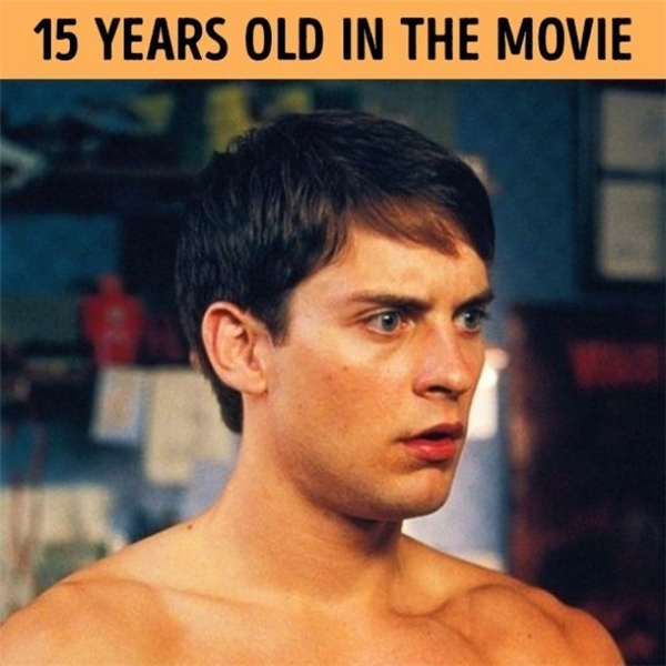 Nam diễn viênTobey Maguiređã đốn tim hàng triệu fan trên thế giới khi đảm nhận vai người hùng tuổi 15, bỏ qua một thực tế là khi ấy anh đã 27 tuổi.