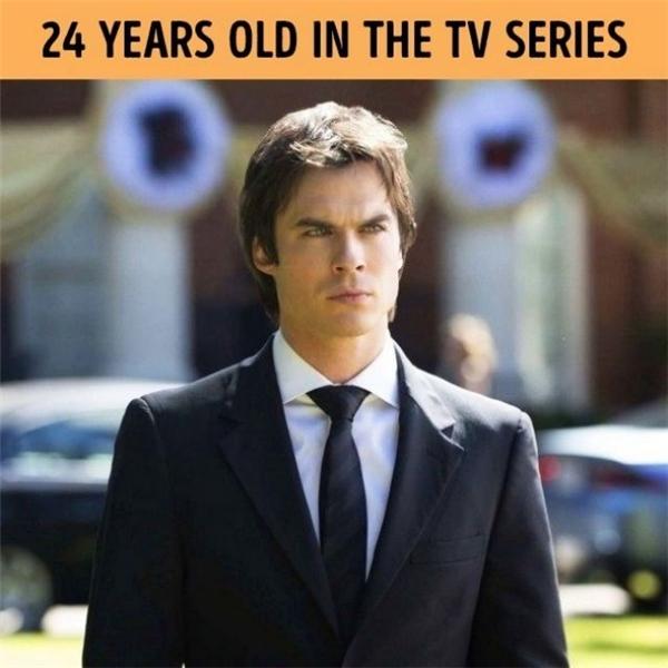 Lịch lãm và quyến rũ,Damon Salvatore là vai diễn mang lại nhiều tiếng vang choIan Somerhalder. Khi nhận lời tham gia TV series này, Ian đã là chàng trai 31.