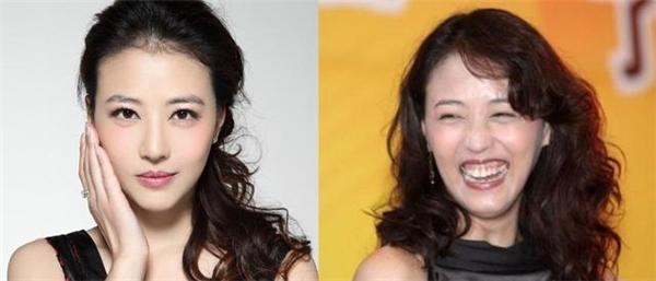 """Được mệnh danh là """"Người đẹp không tuổi"""", nhưng Châu Hải My đã khiến người hâm mộ phải """"choáng""""khi cô tươi cười."""