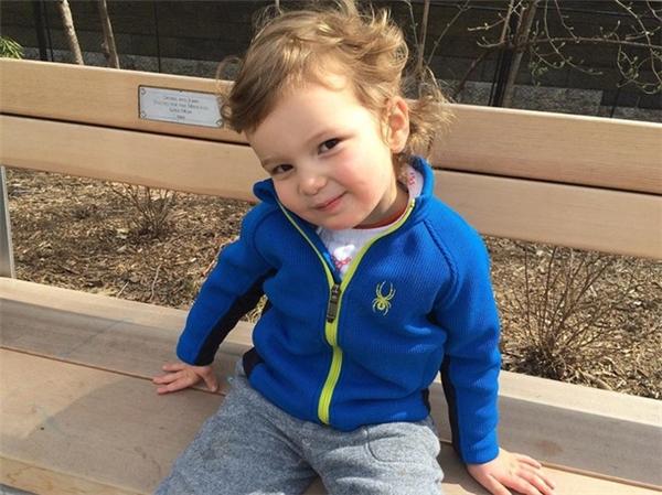 Cháu ngoại thứ hai của ông Donald Trump là Joseph Kushner (3 tuổi). Ảnh: Instagram.