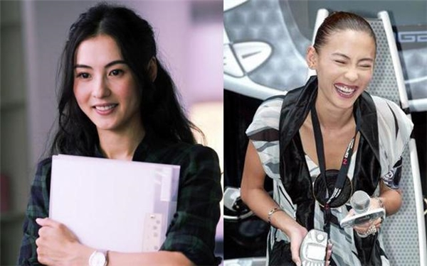 Trương Bá Chi khi cười tươi khiến fan giật mình.