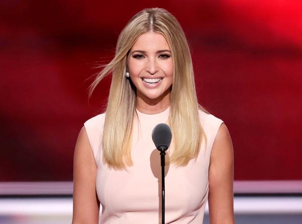 Đây chính là ái nữ ưu tú và quyến rũ của tổng thống Mỹ Donald Trump