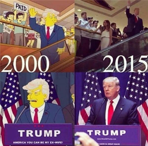 Lời tiên đoán về Donald Trump đã trở thành sự thật. (Ảnh: internet)