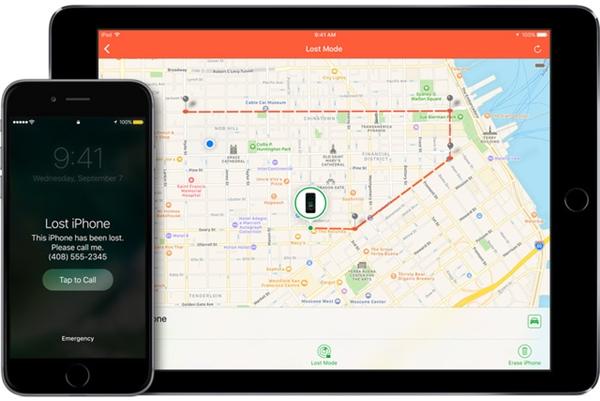 """Chỉ cần tắt nguồn iPhone, iPad thì tính năng """"Find My Phone"""" sẽ không thể xác định vị trí. (Ảnh: internet)"""