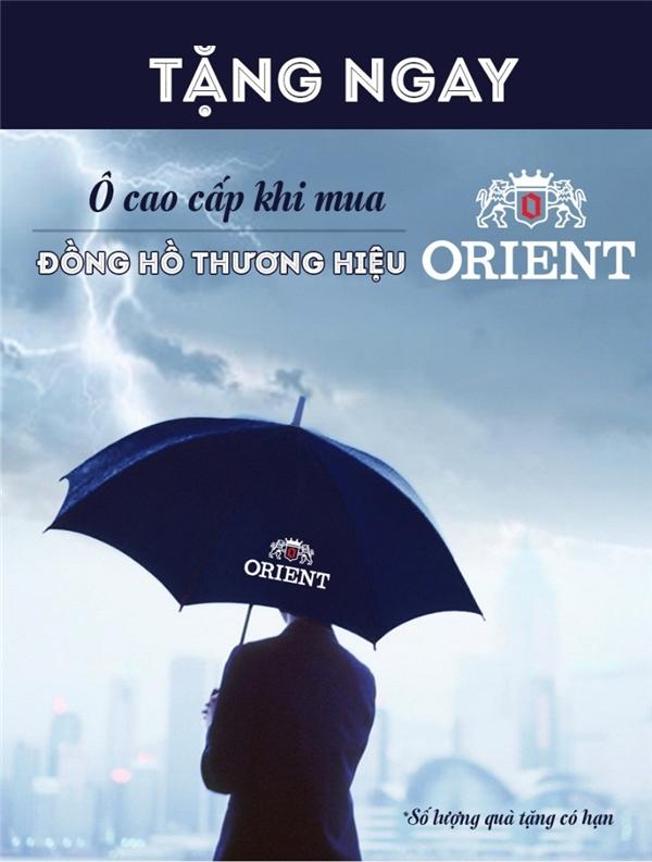 Vừa mua đồng hồ Orient, vừa được sở hữu ô cao cấp. Xem chi tiết ở đây.