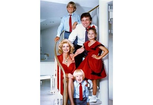 Gia đình nhỏ của Tân Tổng thống.