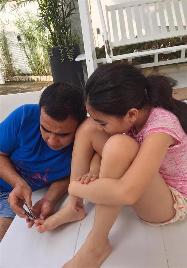 Vì yêu chiều con gái, sao nam Việt không ngại hi sinh thân mình - Tin sao Viet - Tin tuc sao Viet - Scandal sao Viet - Tin tuc cua Sao - Tin cua Sao