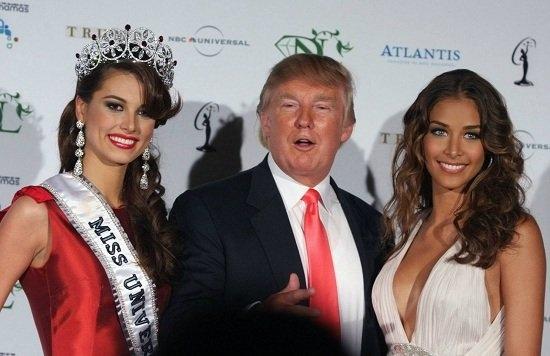 """Trước khi trở thành vị Tổng thống thứ 45 của Mỹ, Donald Trump được biết đến với biệt danh """"ông trùm hoa hậu""""."""