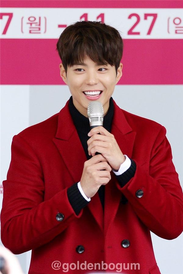 """Park Bo Gum xuất hiện tươi như hoa, mong muốn """"yêu"""" lại Kim Yoo Jung"""