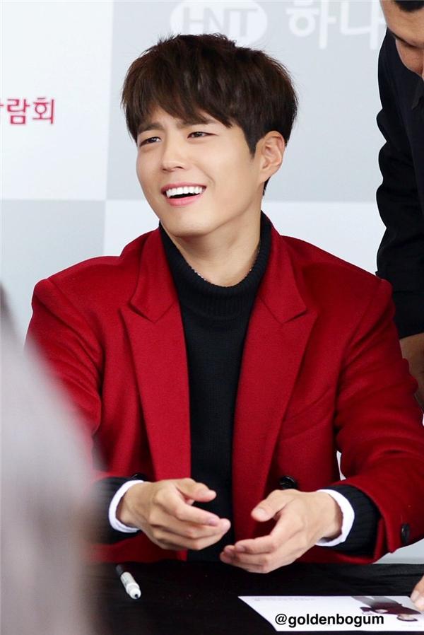 """Loạt biểu cảm """"cute muốn xỉu"""" của Park Bo Gum"""