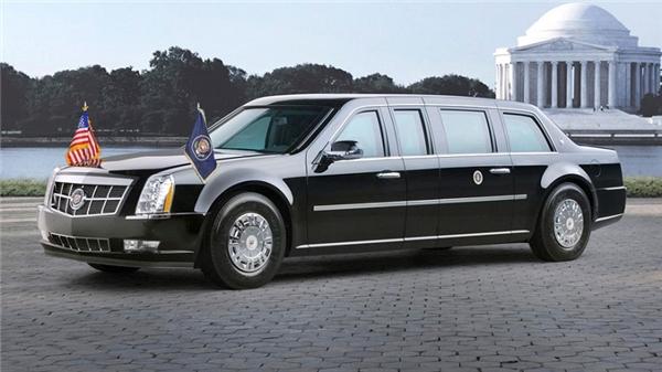 Chiếc siêu limousine của Donald Trump nhiều khả năng là bản nâng cấp từCadillac One. (Ảnh: internet)