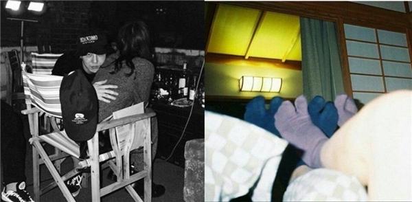 Lộ ảnh hẹn hò của G-Dragon và bạn gái mẫu Nhật