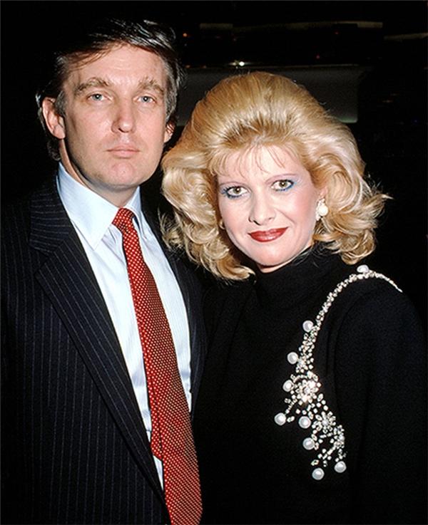Cuộc hôn nhân giữa Donald TrumpvàIvanatan vỡ được cho là do có sự xuất hiện của người thứ ba. (Ảnh: Internet)