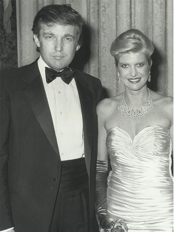 Hình ảnh trong đám cướigiữa ông Donald Trump và Marla Maples. (Ảnh: Internet)