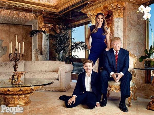 Barron sẽ là cậu bé đầu tiên sống tại Nhà Trắng kể từ năm 1963.