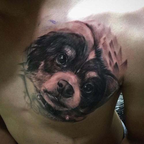 Thầy giáo 9X thay hình xăm người yêu cũ bằng hình chó sau khi chia tay