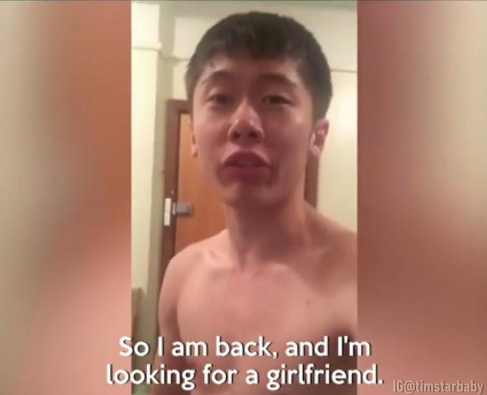 """""""Nên tui trở lại để tìm bạn gái""""."""