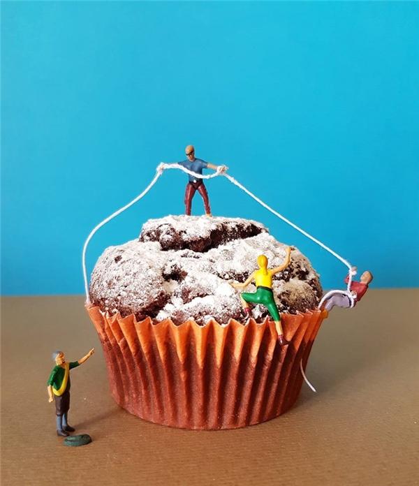 Nỗ lực sẽ được tưởng thưởng bằng quả ngọt, hoặc bánh ngọt.