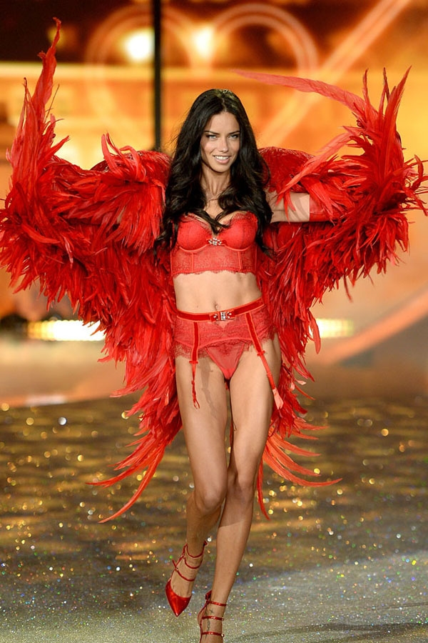 Adriana Lima là một trong những người mẫu có cát xê cao nhất thế giới. Cô đã 15 lần góp mặt trong Victoria's Secret Fashion Show và 3 lần được mặc Fantasy Bra, trở thành thiên thần nhận được vinh dự này nhiều lần nhất trong lịch sử Victoria's Secret Fashion Show.