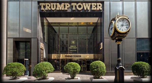 Dinh thự của tân tổng thống Mỹ tọa lạc tại tòa Tháp Trump nổi tiếng.