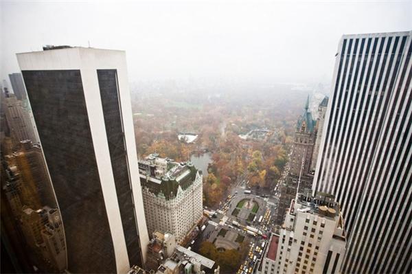 Toàn cảnh thành phố New York khi nhìn từ căn penthouse.