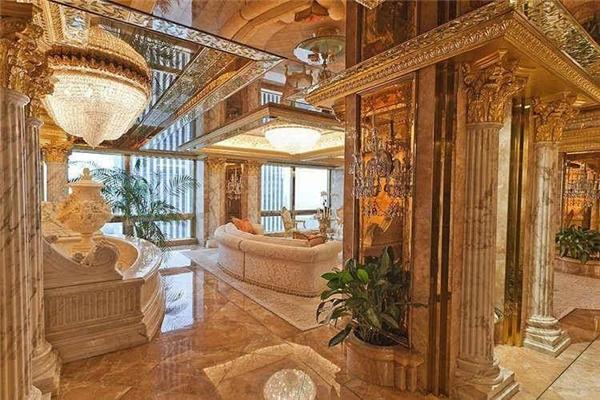 Choáng ngợp với cơ ngơi hơn 2200 tỷ của tân tổng thống Mỹ Donald Trump