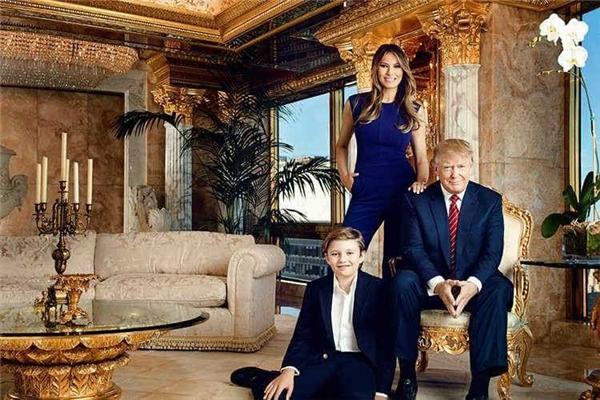Đây là nơi ở của gia đình Donald Trump trước khi dọn đến Nhà Trắng.