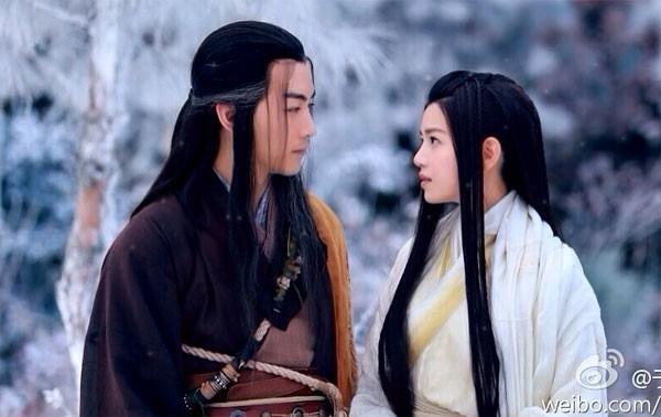 Trần Hiểu và Trần Nghiên Hy quen nhau sau bộ phim Tân Thần Điêu Đại Hiệp.