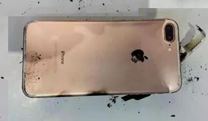 iPhone 7 Plus bị hư hỏng nặng không thể sửa chữa. (Ảnh: internet)