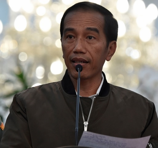 """Chiếc áo """"gây sốt"""" trong cộng đồng người dân Indonesia của Tổng thốngJoko Widodo."""
