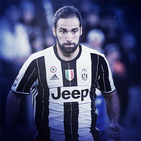 """9. Gonzalo Higuain: Cú hat-trick trong trận đấu cuối cùng mùa giải trước gặp Frosinone giúp Higuain ghi danh vào lịch sử với tư cách là cầu thủ ghi bàn nhiều nhất trong một mùa giải Serie A với 36 bàn thắng, nhiều hơn một so với kỷ lục tồn tại trước đó của huyền thoại Gunnar Nordahl ở mùa giải 1949/50. Sau khi hoàn tất vụ chuyển nhượng trị giá 90 triệu euro từ Napoli sang Juventus, """"El Pipita"""" tiếp tục chứng tỏ tài năng với 7 bàn thắng trong 9 trận đầu tiên trong màu áo Bianconeri."""