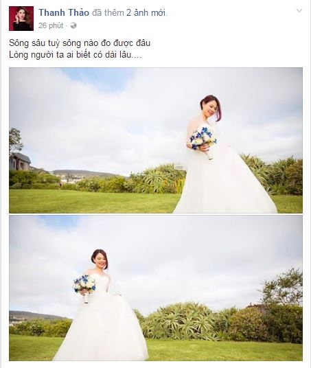 Vừa than ế, Thanh Thảo đã rạng rỡ mặc váy cưới, chuẩn bị lên xe hoa? - Tin sao Viet - Tin tuc sao Viet - Scandal sao Viet - Tin tuc cua Sao - Tin cua Sao