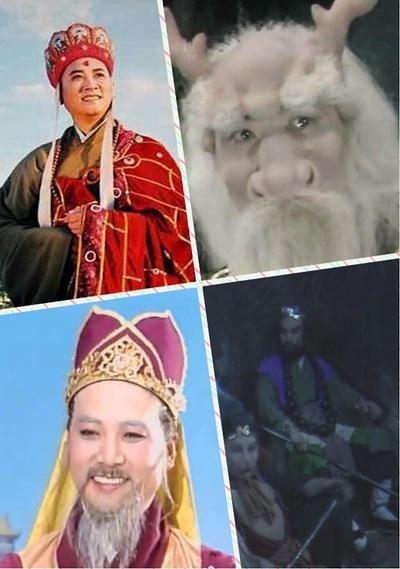 Trì Trọng Thụy diễn 4 vai: Đường Tăng, Long Vương, Thiên đình văn thần, Sa Tăng (trong tập Truyền nghệ Ngọc Hoa Châu).