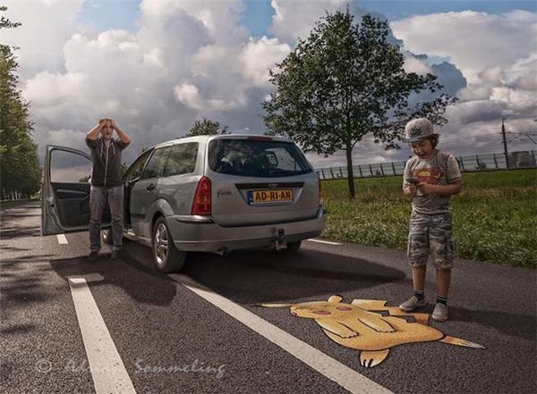 """Ông là một nhiếp ảnh gia và """"thánh photoshop"""" nổi tiếng ở Hà Lan."""