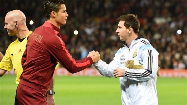 Ronaldo và Messi đã thống trịbóng đáthế giới trong thập kỉqua. (Ảnh: internet)