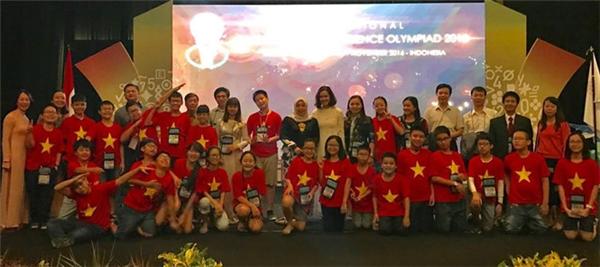Đội tuyển Việt Nam đã dẫn đầu toàn đoàn với 24 huy chương.
