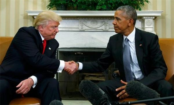 Mới đây, ông Trump vẫn dùng chiếc chuyên cơ này bay đến Washington, gặp mặt và thảo luận về vấn đề chuyển giao quyền lực từ Tổng thống Barack Obama.(Ảnh: Internet)