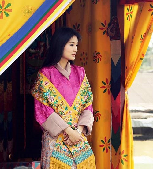 Hoàng hậu Bhutan Jetsun Pema xinh đẹp.