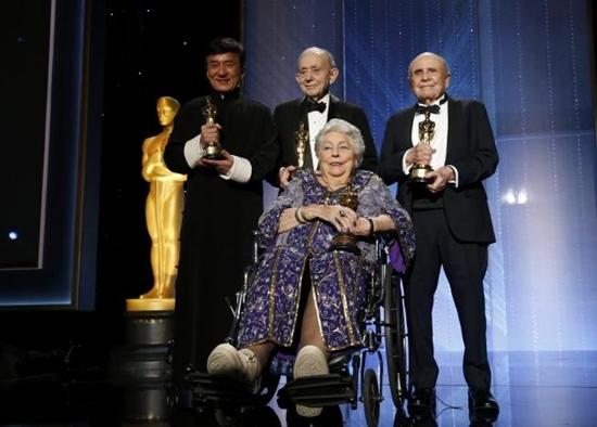 Bốn nghệ sĩ vinh danh nhận được giải thưởng Oscar thành tựu trọn đời.