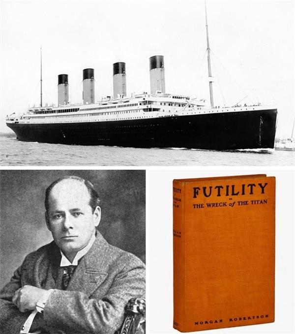 Vào năm 1898, mười bốn năm trước khi thế giới chứng kiến tai nạn đắm tàu Titanic, nhà văn Morgan Robertson – tác giả cuốn tiểu thuyết viễn tưởng Futility (tạm dịch: Sự phù phiếm) đã cho ra đời quyển sách The Titan với nội dung hệt như một lời cảnh báo cho Titanic. The Titan kể về một con tàu được ca ngợi như thể rủi ro đắm tàu là bất khả, với những công nghệ kỹ thuật tiên tiến, song do chủ quan nên đã trang bị thiếu tàu con cứu hộ. Cuối cùng, tàu Titan đã chìm xuống đáy Bắc Đại Tây Dương và bỏ lại hàng loạt hành khách trên biển cả. Sự trùng hợp không chỉ nằm ở nội dung câu chuyện, mà còn ngay cả ở cái tên của con tàu Titan trong tiểu thuyết và tàu Titanic ở thực tại.