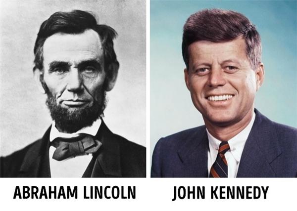 Những sự trùng hợp ngẫu nhiên đến mức kỳ lạ về tiểu sử của hai vị tổng thống Mỹ Abraham Lincoln và John Kennedy có thể khiến bạn vô cùng sửng sốt: