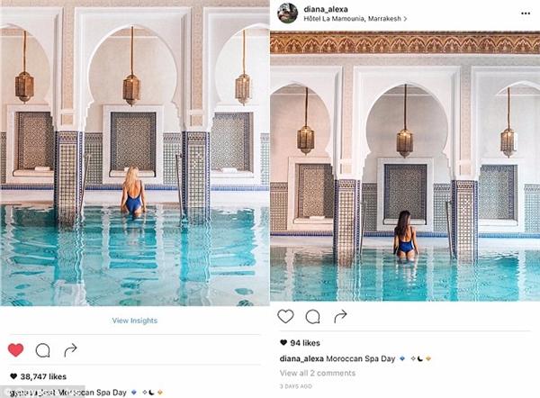 Xuất hiện bản sao giống đến từng-chi-tiết với hot girl Instagram