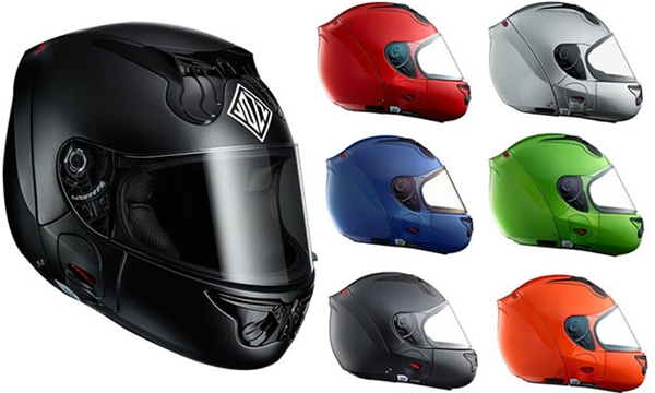 Mũ bảo hiểm kiểu vỏ sò Vozz RS 1.0. (Ảnh: internet)