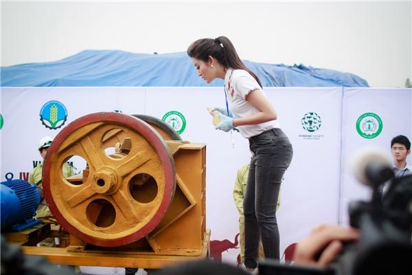 Với phong thái giản dị, Huyền My luôn hứng thú khi có cơ hội tham gia một hoạt động cộng đồng ý nghĩa. Đồng thời, cô cũng tích cực trợ giúp quá trình kiểm duyệt các mẫu tang vật bao gồm ngà voi, sừng tê giác… - Tin sao Viet - Tin tuc sao Viet - Scandal sao Viet - Tin tuc cua Sao - Tin cua Sao