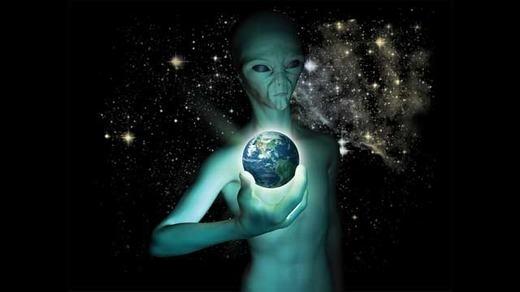 Người ngoài hành tinh đangné tránh Trái đất.
