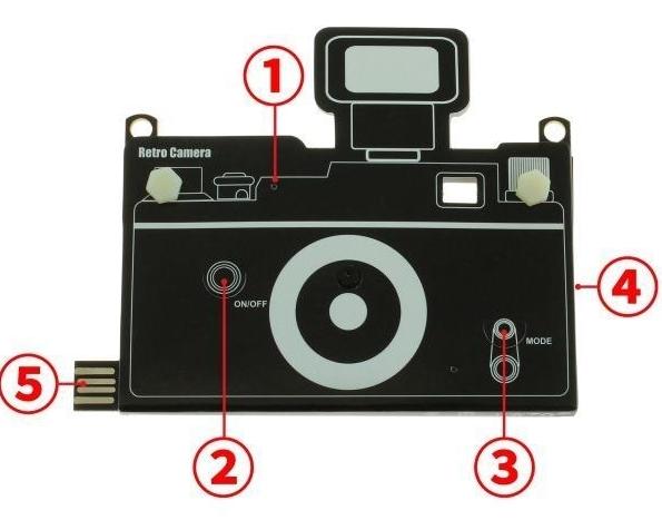 Chức năng tương tự như một chiếc máy ảnh thông thường. (Ảnh: internet)